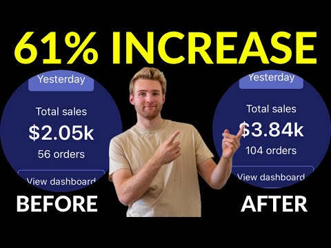 How I Grew My Shopify Store By $1,790 In 24 Hours (Step-By-Step)
