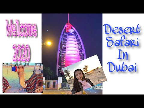 Dubai Desert Safari and 2020 Fireworks Show @ Burj Al-Arab
