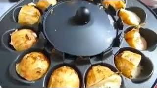 Сковорода, которая сама переворачивает готовящееся блюдо(, 2017-08-21T09:51:52.000Z)