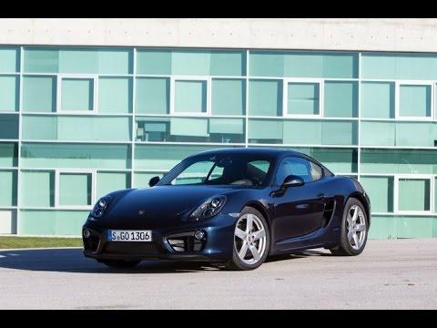 2015 Porsche Cayman Start Up and Review 2.7 L Flat 6-cylinder