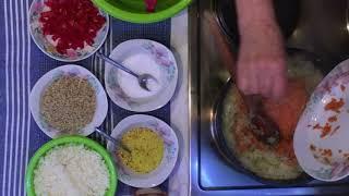 Posna sarma recept/Rezepte für geschmorten Weißkohl/Cabbage Rolls recipe