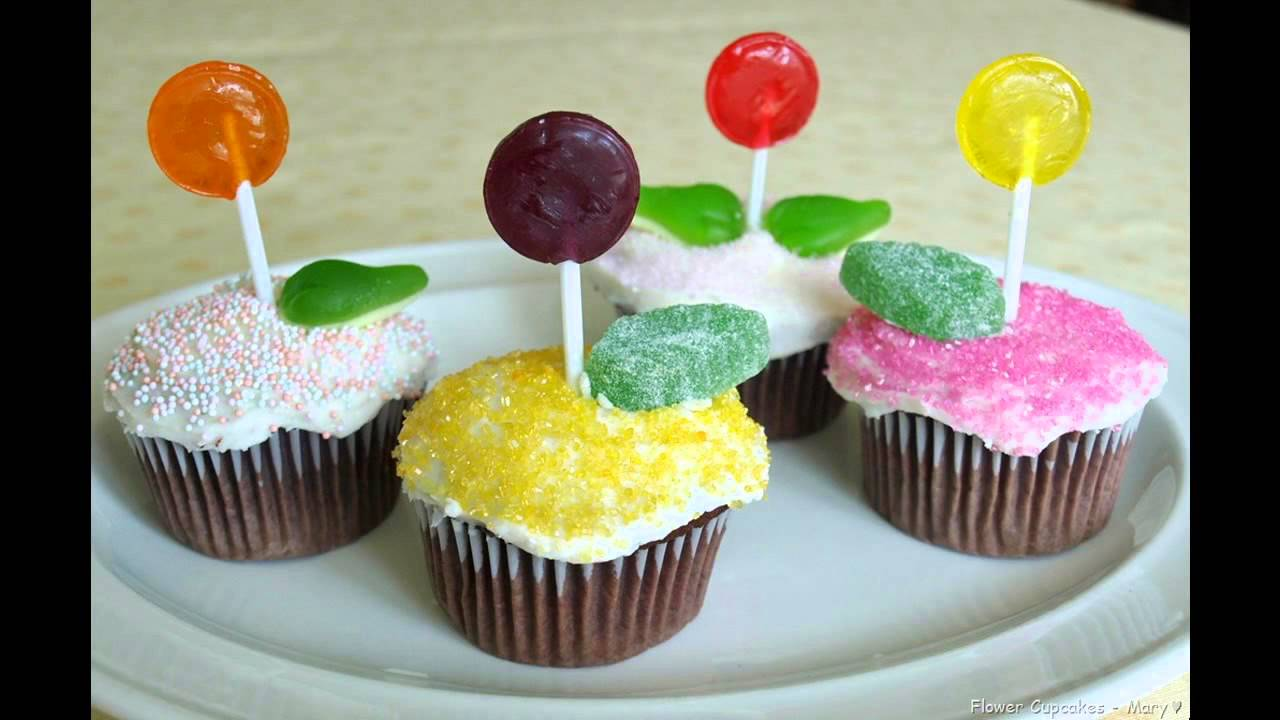 Cupcake Decorating Ideas Simple : Easy cupcake decorating ideas for kids - YouTube