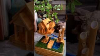 BerKreasi rumah pohon miniatur