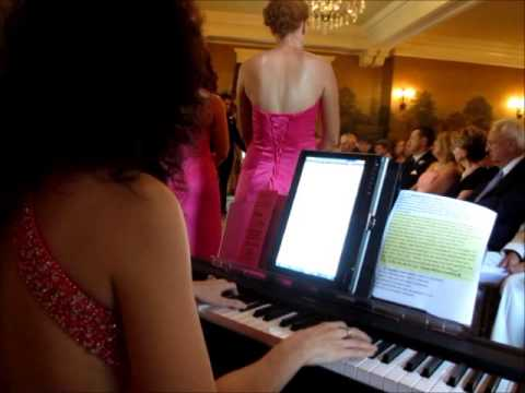 Wedding Ceremony Music - Kristin and Eric - www.PassionatePianist.com - Pianist Pittsburgh PA