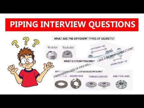 Piping interview question & Answers | Piping Analysis