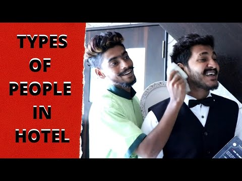 Different Types of People In Hotel || Chetan Lokhande