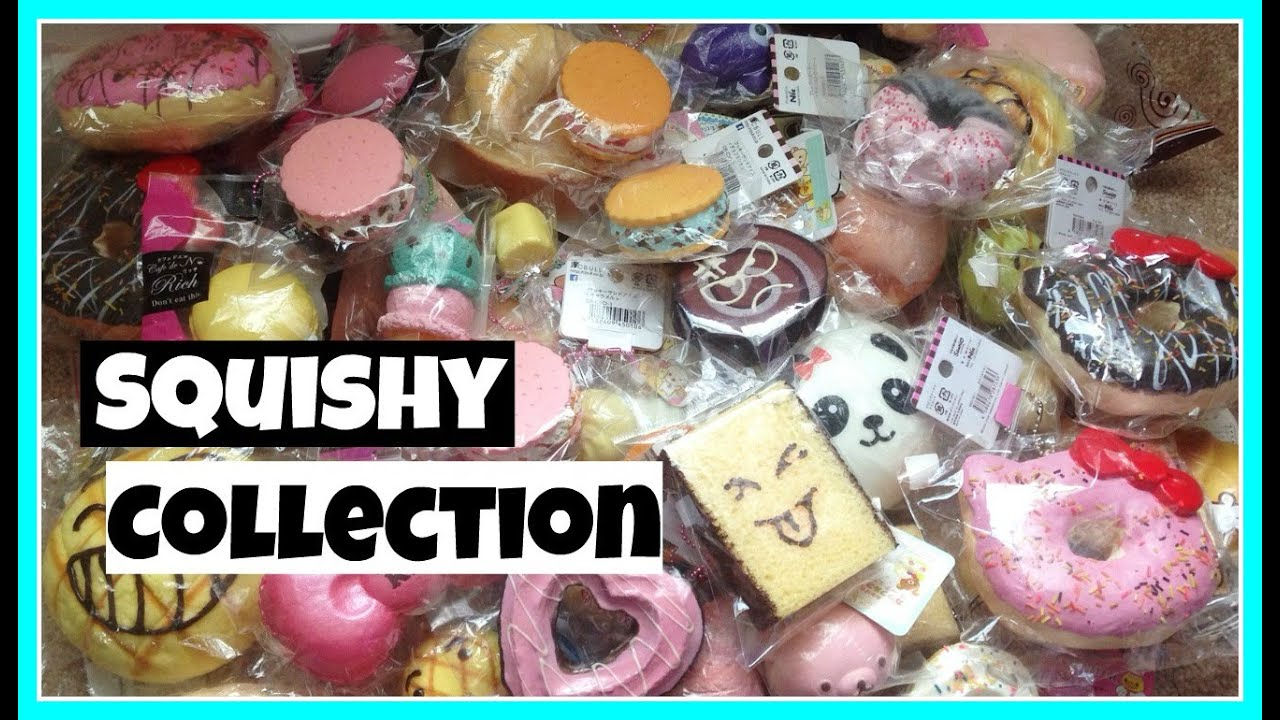 Squishy Collection Rare squishies ( ? ) - YouTube