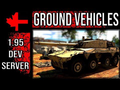 New Ground Vehicles - Update 1.95 Dev Server - War Thunder