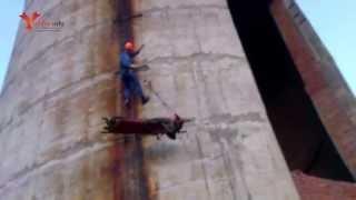 Альпинист из Санкт-Петербурга сорвался с трубы ТЭЦ в Глазове