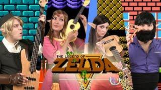 The Legend of Zelda. Overworld Theme - Stop Motion - GuizDP