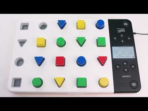 RAPAEL Smart Pegboard - Interactive Home Activities for Fine