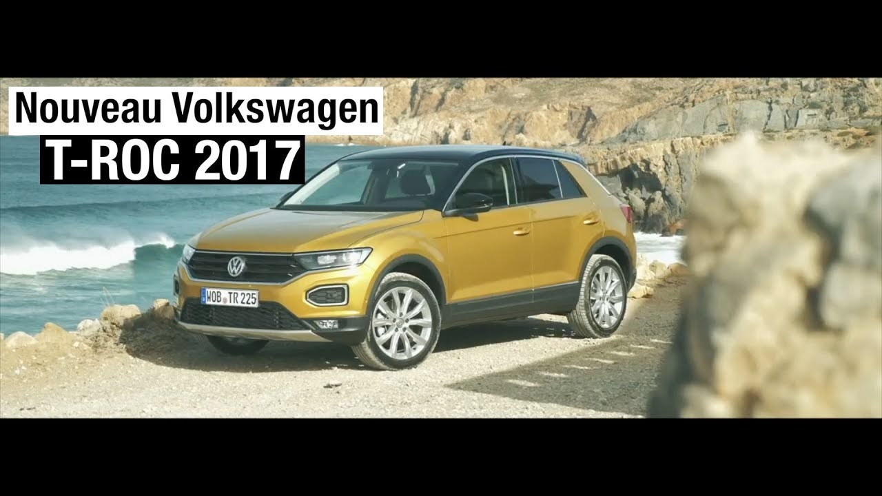 nouveau suv volkswagen le t roc 2017 youtube. Black Bedroom Furniture Sets. Home Design Ideas