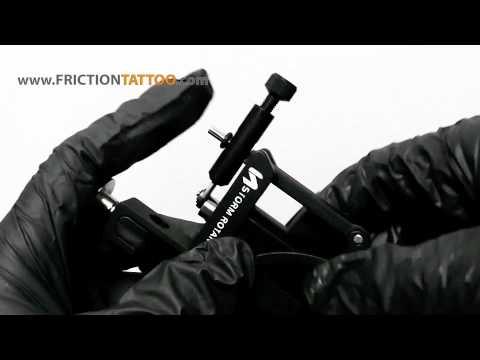 Rotary Tattoo Machine Review STORM a-250 ADJ...