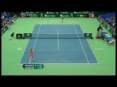 WTA Moscow 2010 Semis Highlights