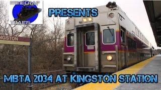 MBTA 2034 at Kingston Station