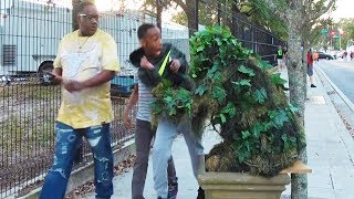 THE REAL BUSHMAN - FRED SPECIAL TELEVISION COLLABORATION - #funnyvideo #bushman #scareprank