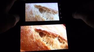 Samsung Galaxy Note 2 vs. HTC Desire HD - Displayvergleich