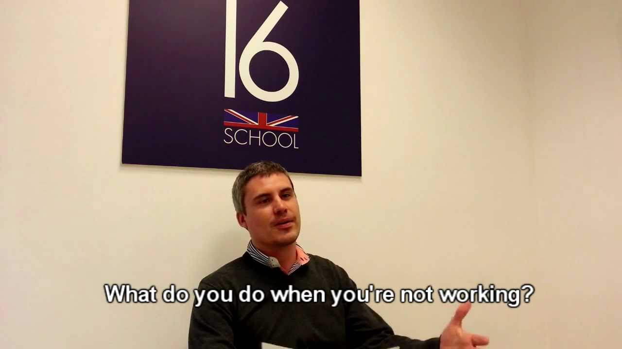 Interview with andrew academic director of number 16 - Number 16 zaragoza ...