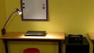 This video is not available. How to Make an Incredible Almost Free Laptop Desk
