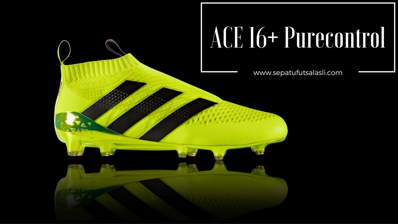 size 40 46ab8 09e3d Review Sepatu Bola Adidas Ace 16+ Purecontrol AQ3805