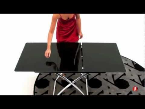Magic J Glass Cs 5041 G Modern Folding Table By Calligaris