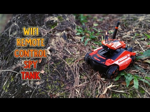 SUPERB WIFI Remote Control (RC) Spy Tank from RCMOMENT