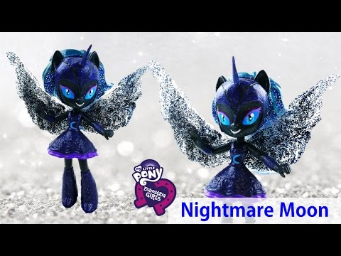 My Little Pony Nightmare Moon Princess Luna Doll Transformation Equestria Girls | Evies Toy House