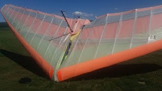 ultralight trike fail rip wing apollo racer microlight airplane