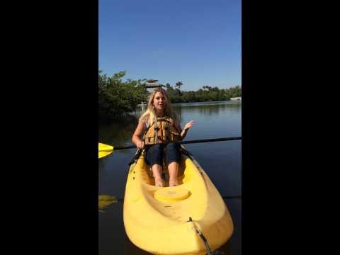 Kayaking at Westlake in Fort Lauderdale