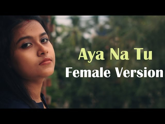 Aya Na Tu Female Version | Arjun Kanungo, Momina Mustehsan | Cover by Sudha | Karaoke | KRS