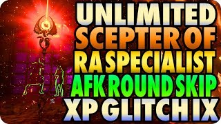 BO4 Zombie Glitches: Unlimited Scepter Of Ra Specialist/ AFK XP Round Skip IX - Black Ops 4 Glitches