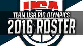 Team USA 2016 Roster Predictions