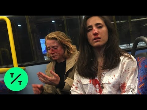 UK police make 5th arrest in connection with bus assault of lesbian couple from YouTube · Duration:  2 minutes 9 seconds