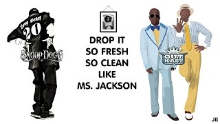 OutKast & Snoop Dogg feat. Pharrell Williams - Drop It (So Fresh, So Clean) Like Ms. Jackson