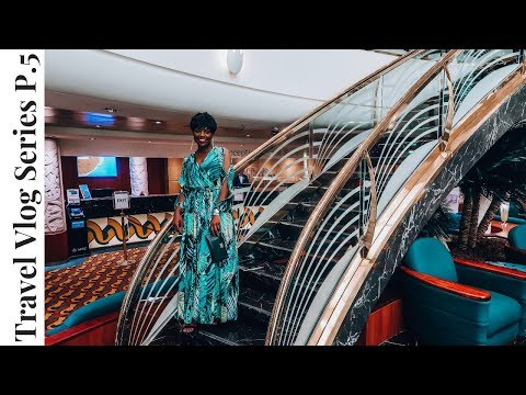 MSC Musica CRUISE South Africa TRAVEL VLOG Part 5 | NIGHT AT THE THEATER | Getting Lost on the Ship