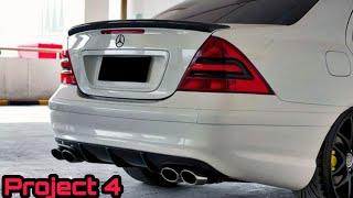 Project 4 - Mercedes Benz W203 C240 (Interior Black Design)