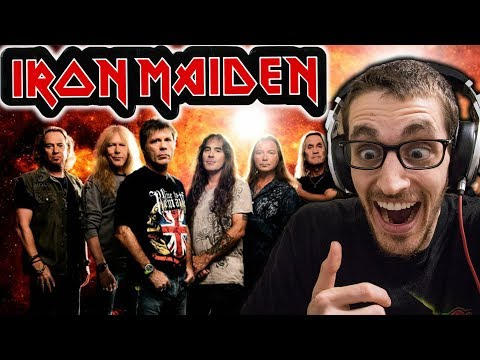"Hip-Hop Head's FIRST TIME Hearing IRON MAIDEN: ""Hallowed Be Thy Name"" REACTION"