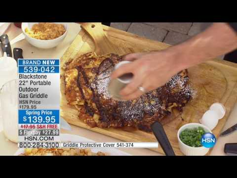 HSN | Kitchen Innovations featuring Blackstone Griddle Premiere 03.24.2017 - 10 AM