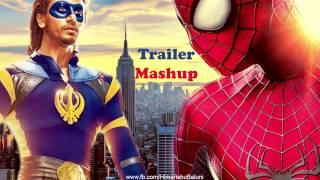 a flying jatt the amazing spider man trailer mashup