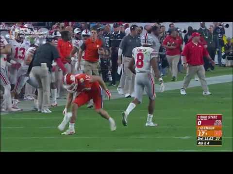 Clemson Offense vs Ohio State Defense (Fiesta Bowl 2016)