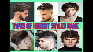 TYPES OF HAIRCUT STYLES NAMES /(FOR MEN)