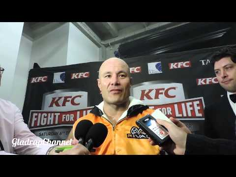 MONTY BETHAM POST FIGHT INTERVIEW AFTER 3RD ROUND STOPPAGE @ FIGHT FOR LIFE 2014