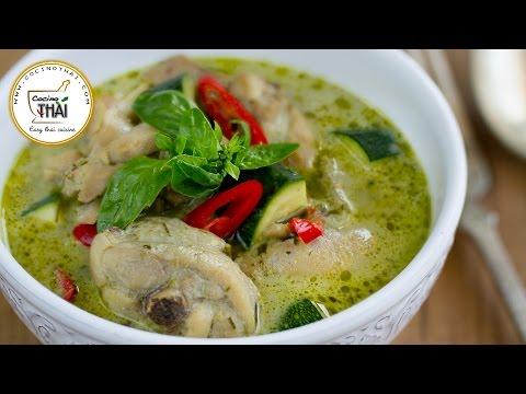 Vídeo-receta: curry verde con pollo | Sabor de Asia