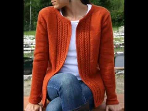 Casual Cardigan - Knitting Pattern Presentation