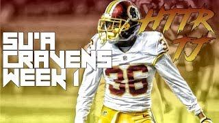 Su'a Cravens Preseason Week 1 Highlights ᴴᴰ    Washington Redskins