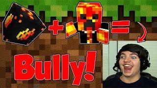 PrestonPlayz DESTROYS Us in Minecraft LUCKY BLOCK Skywars!