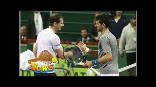 Andy murray sent touching message by novak djokovic over injury problems