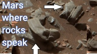 NASA's Rover captured Controטersial spot on Mars// Once there were buildings on Mars 4k