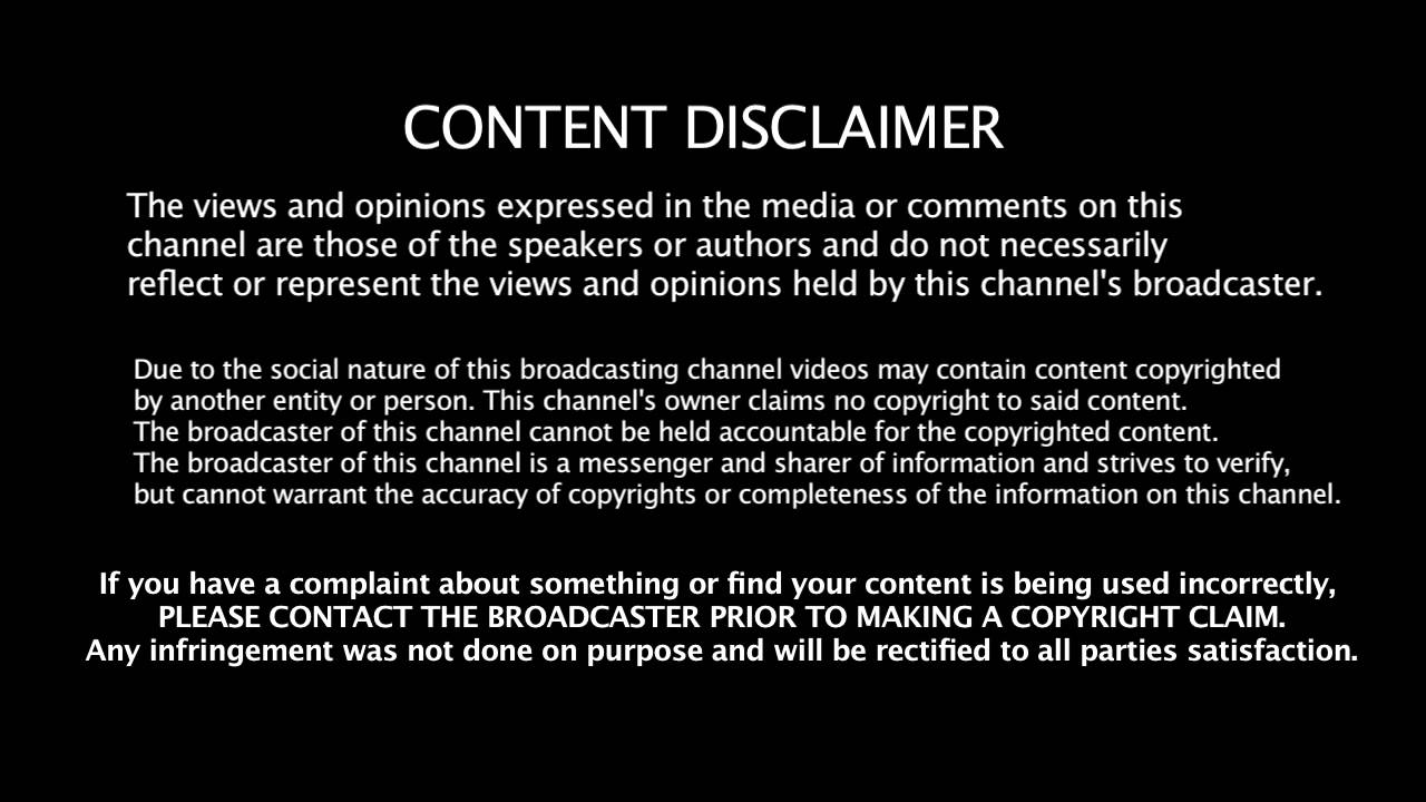 Fair Use Disclaimer YouTube – Copyright Notice Template