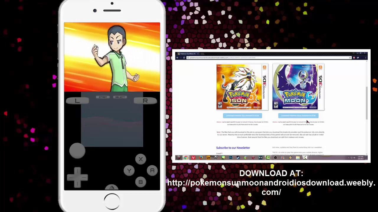 how to get pokemon emulator on iphone working pok 233 mon moon on iphone using drastic 3ds emulator 20108